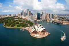 Сидней, оперный театр стоковые изображения