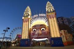 Сидней Luna Park Новый Уэльс Австралия Стоковое фото RF
