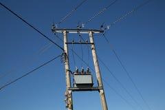 Силовые кабели Великобритания Стоковое Изображение RF