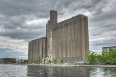 Силосохранилища высолаживания Канады - Торонто, Канада Стоковые Фотографии RF