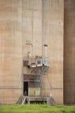 Силосохранилища зерна Grong Grong NSW стоковые фотографии rf