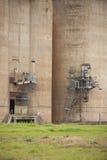 Силосохранилища зерна Grong Grong NSW стоковая фотография rf