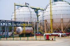 Силосохранилище газа Стоковые Изображения