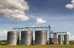 Силосохранилище зерна Стоковые Изображения