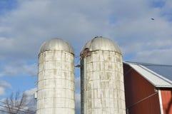 Силосохранилище фермы Стоковое фото RF