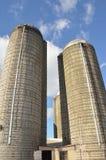 Силосохранилище фермы Стоковое Фото