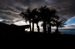 Силуэты после шторма Стоковые Изображения RF