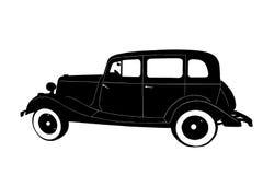 Силуэт автомобиля Стоковые Изображения RF