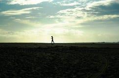 Силуэт девушки - DSC02393-2 стоковое изображение rf