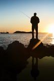 Рыболов II стоковая фотография rf