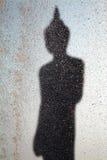 Силуэт backlight Будды Стоковые Фото