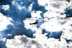 Силуэт Spitfire Стоковое Изображение