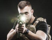 Силы специального назначения перепада США Стоковое фото RF