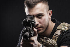 Силы специального назначения перепада США Стоковое Фото