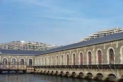 Силы-Motrices des Batiment, Женева, Швейцария Стоковая Фотография RF
