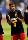 Сильва Neymar da FC Barcelona стоковая фотография rf