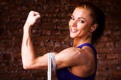 Сильная женщина Стоковые Изображения RF