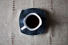 сильная кофейной чашки горячая Стоковое Изображение RF