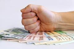 Сильное евро Стоковые Изображения