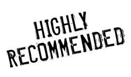 Сильно рекомендованная избитая фраза стоковые изображения rf