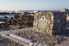 Сильные ветеры на самый южный этап Африки Стоковое Изображение