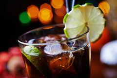 Сильные коктеиль или лимонад спирта с Стоковое Изображение RF