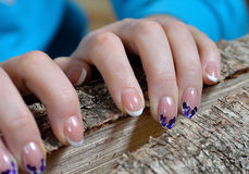 Сильные ногти! Стоковое Фото