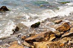 Сильный брызгать волны Стоковое Изображение RF