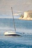 Сильный ветер Стоковое Фото
