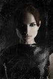 Сильный портрет женщины Стоковое фото RF