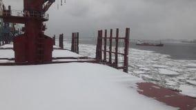 сильный снегопад Стоковые Фотографии RF