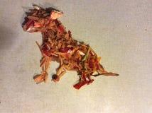 Сидя собака Стоковое Фото