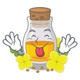 Скажите вне масло с насмешкой мустарда в форме мультфильма бесплатная иллюстрация