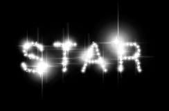 сказанная по буквам звезда Стоковые Изображения RF