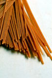 Сказанные по буквам Wholegrain макаронные изделия (спагетти) Стоковое Фото