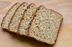 сказанный по буквам хлеб Стоковые Изображения