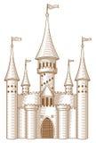 сказка замока Стоковое фото RF