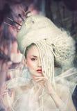 сказовая женщина Стоковое Фото