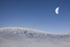 сказовая луна Стоковое фото RF