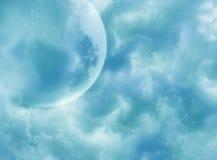 сказовое небо Стоковые Фотографии RF
