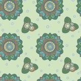 сказовые цветки Пастельный цвет покрасьте вектор возможных вариантов картины различный Стоковое фото RF