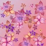 сказовые цветки Стоковое Изображение RF
