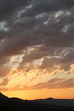 сказовый восход солнца Стоковые Изображения RF