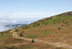 Сказовый горный вид в Мадейре Стоковое Фото