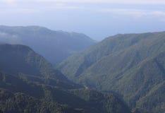 Сказовый горный вид в Мадейре Стоковое фото RF