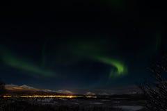 Сказовый северный свет Стоковые Фото