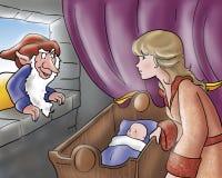 сказы ферзя эльфа злейшие fairy иллюстрация вектора