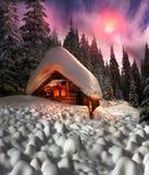 Сказ рождества для альпинистов Стоковое Изображение
