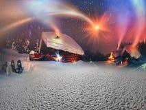 Сказ рождества для альпинистов) Стоковые Изображения