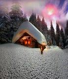 Сказ рождества для альпинистов Стоковое Изображение RF